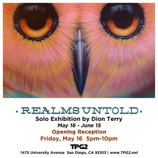 Solo art show May 16th!